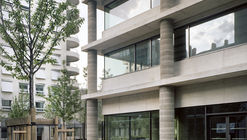 Edifício de Escritórios Lyon Confluence Îlot A3 / Christian Kerez
