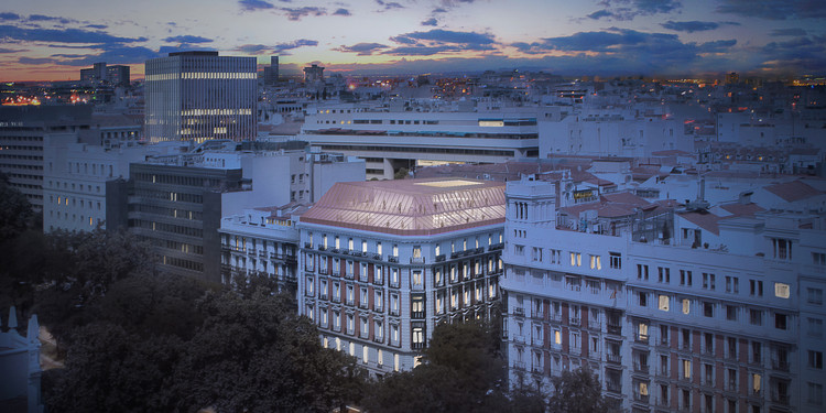 PRACTICA + Daroca Arquitectos, segundo lugar en diseño del Consorcio de Compensación de Seguros en Madrid, Cortesía de PRÁCTICA + Daroca Arquitectos