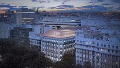 PRACTICA + Daroca Arquitectos, segundo lugar en diseño del Consorcio de Compensación de Seguros en Madrid