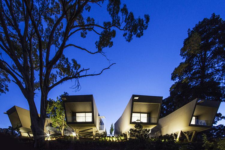 Acomodação em Hepburn Spring / CBG Architects, © Pietro Giordano