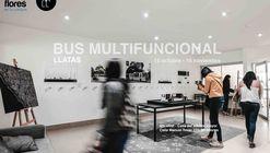 Exhibición: Barrio Móvil - Bus Multifuncional / Miraflores, Lima