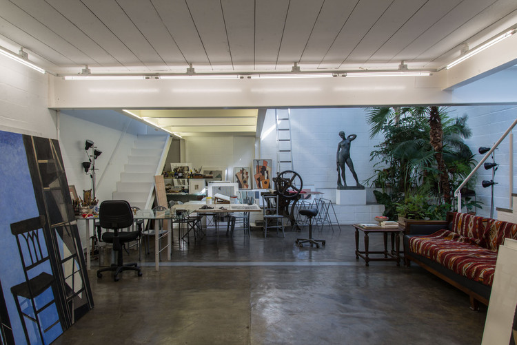 Casa Atelier Sérgio Fingermann / Rossi Barbosa Arquitetos Associados, © Lauro Rocha