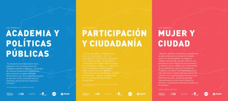 Arquitectura y Política: 1er Coloquio de Estudiantes de Arquitectura PUCP. ¡Participemos!, Cortesía de Confrontaciones