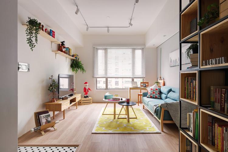 La Casa de Cathy  / A Lentil Design, © Chi Shou Wang