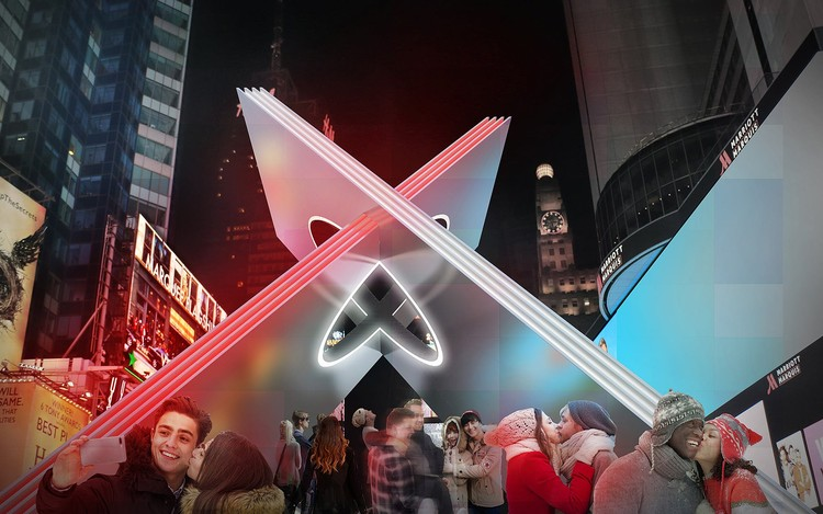 Reddymade Wins the Times Square Valentine Heart Design Competition of 2019, Courtesy of Reddymade