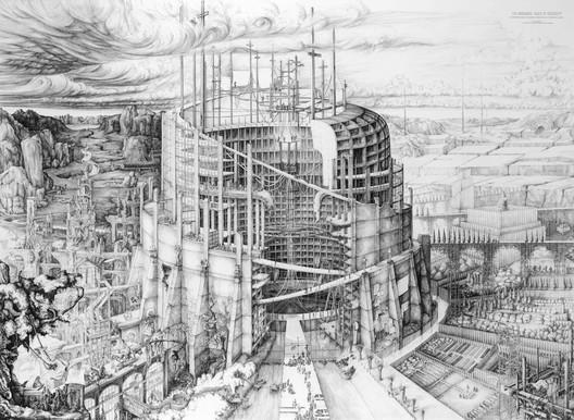 The Babylonian Tower of Modernity / Carlijn Kingma. Image Courtesy of World Architecture Festival