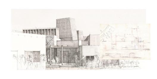 Muneeb Ali Khan / Elevations of Ambiguity. Image Courtesy of World Architecture Festival
