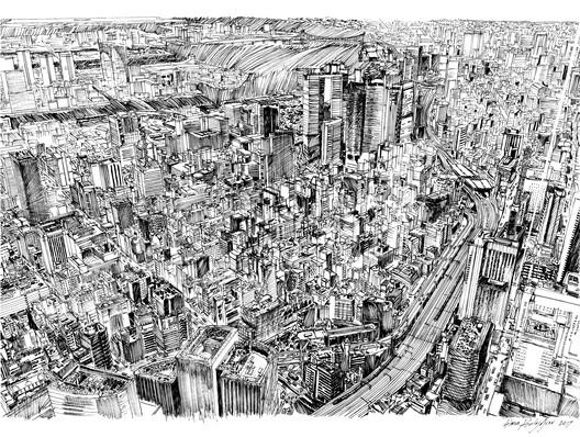 Simon Kalajdjiev / Chuo Ward, Tokyo . Image Courtesy of World Architecture Festival