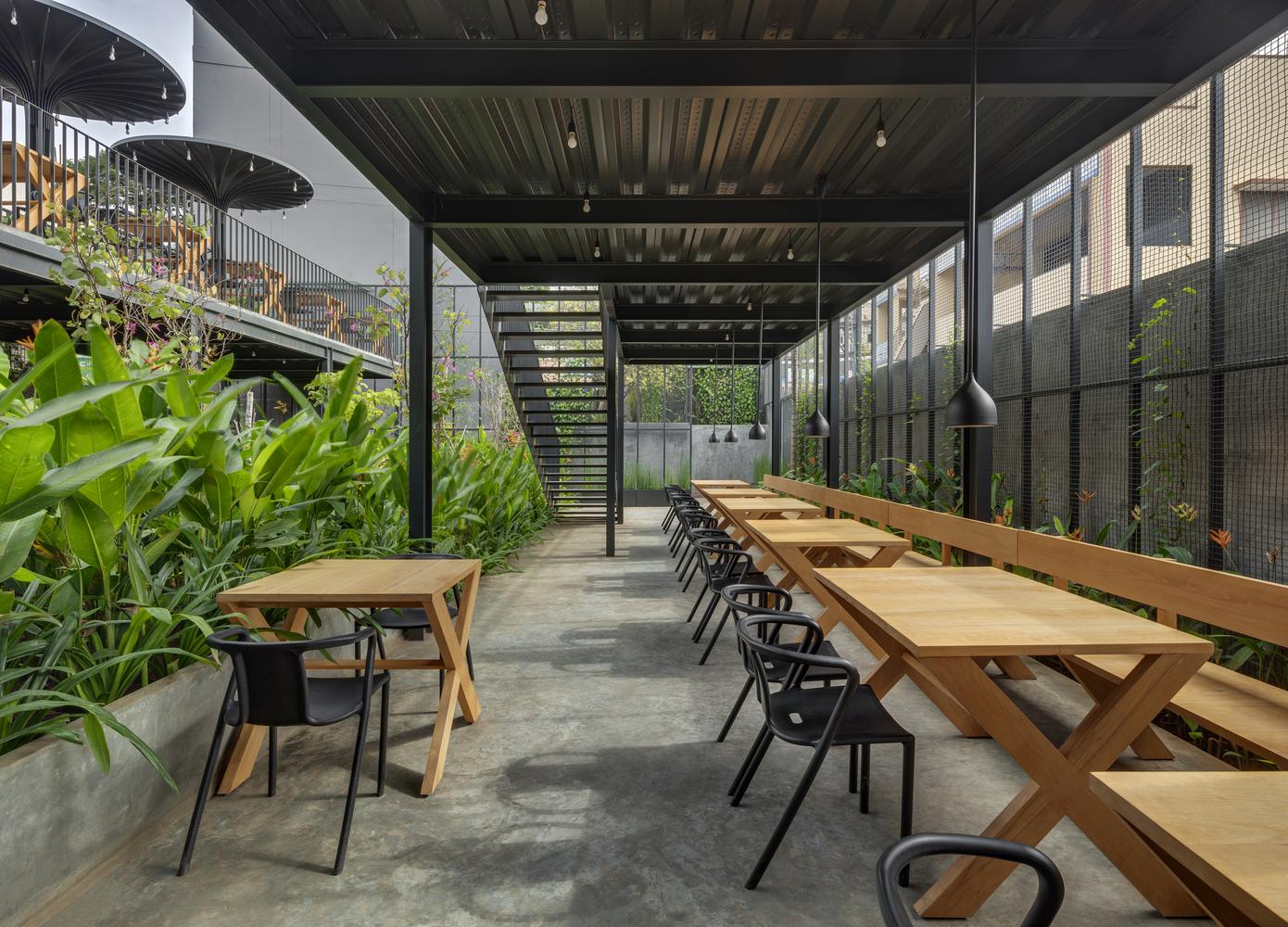 Gallery Of Sunrise Garden Restaurant M9 Design Studio 12