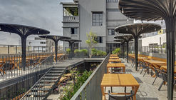 Sunrise Garden Restaurant / M9 Design Studio