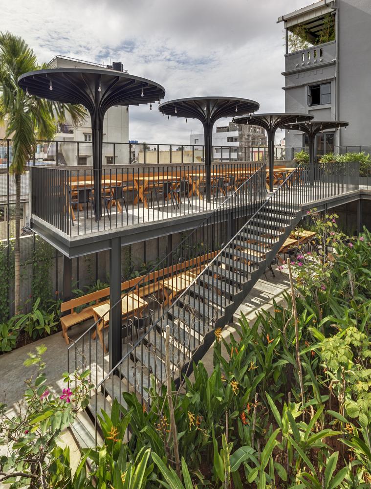 Gallery Of Sunrise Garden Restaurant M9 Design Studio 5