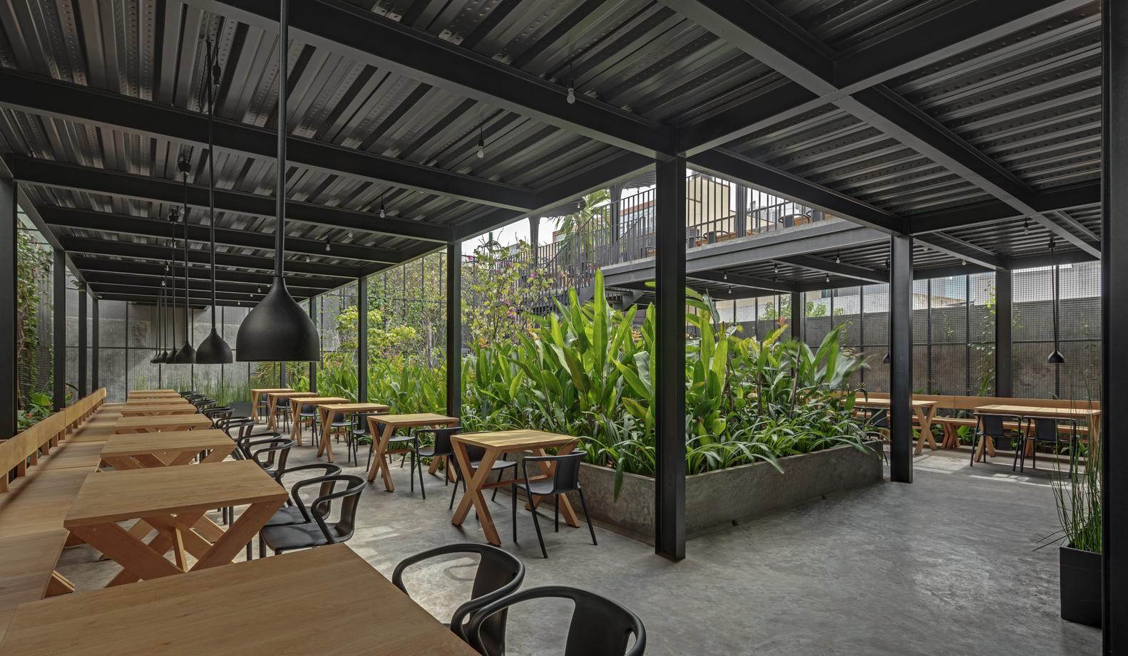 Gallery Of Sunrise Garden Restaurant M9 Design Studio 2