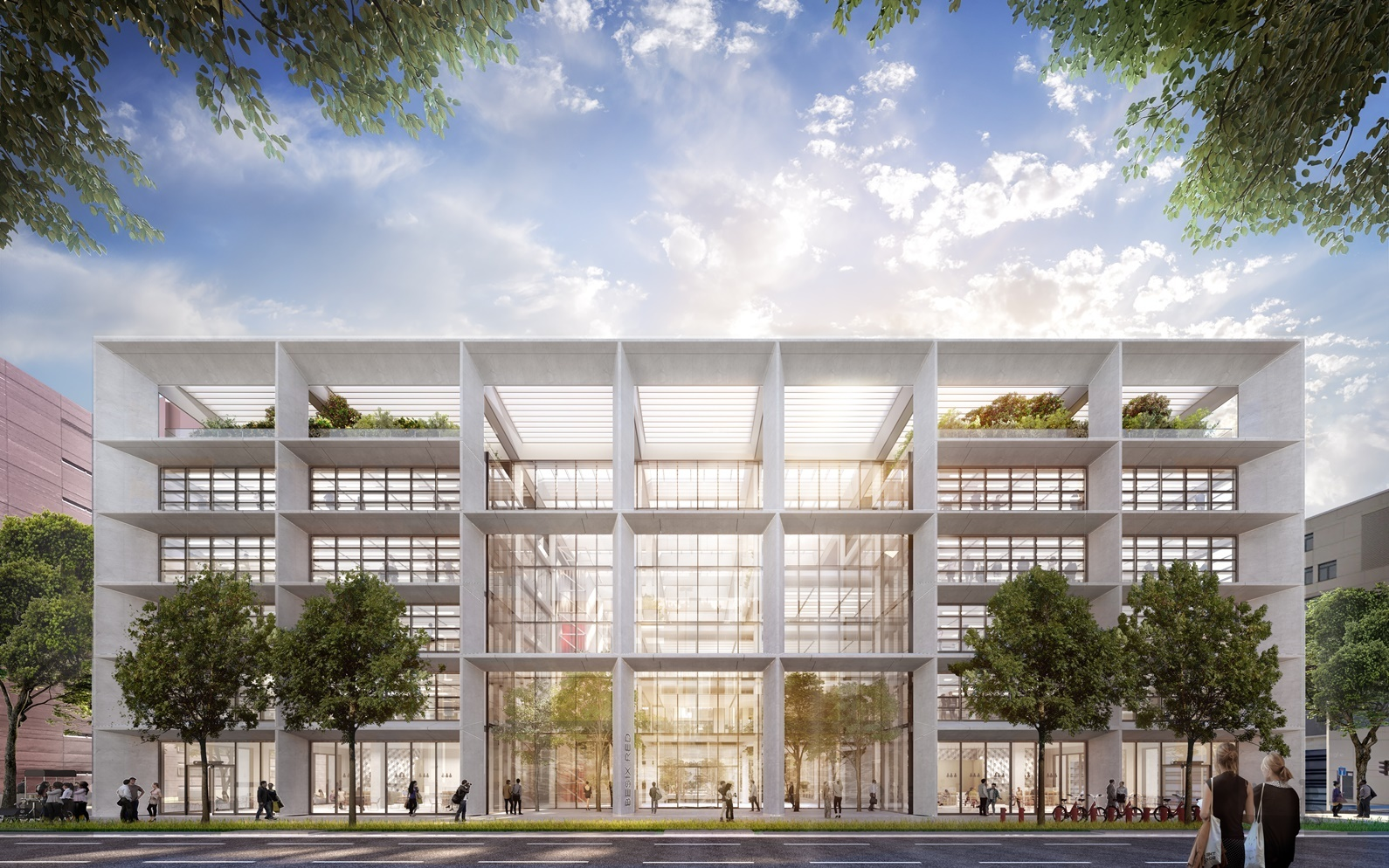 Foster + Partners Design Open Office Building in Luxembourg
