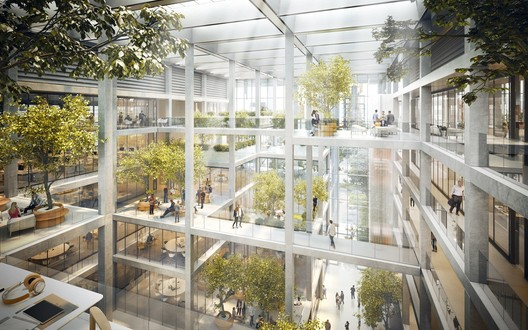Belval Office Building. Image Courtesy of Foster + Partners