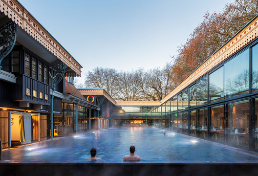 Thames Lido / Marshall and Kendon Architects