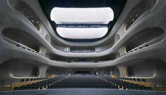 opera hall. Image © Marc Goodwin