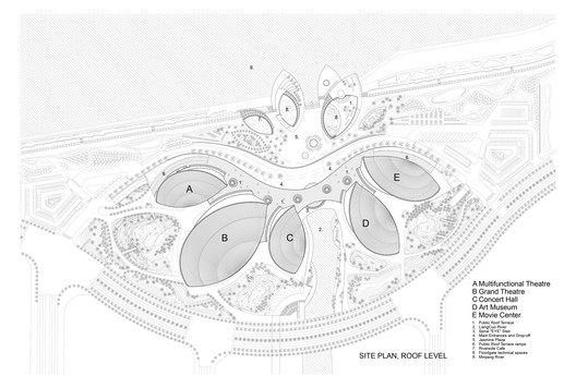 site plan roof level