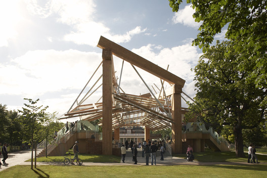 Serpentine Pavilion 2008 / Frank Gehry. Image © John Offenbach