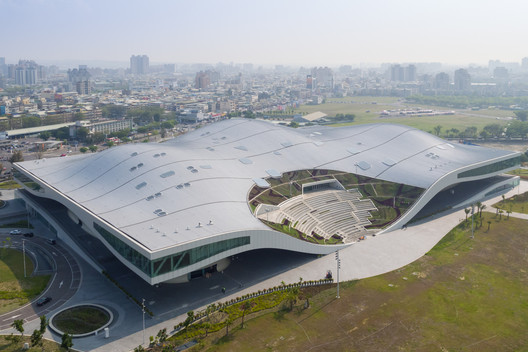 The World?s Largest Performing Arts Center Opens in Taiwan, Designed by Mecanoo