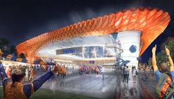 Meis Architects Design FC Cincinnati Stadium with ETFE Pillows