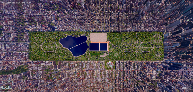 What New York's Central Park Could Have Looked Like, Courtesy of NeoMam Studios for Budget Direct