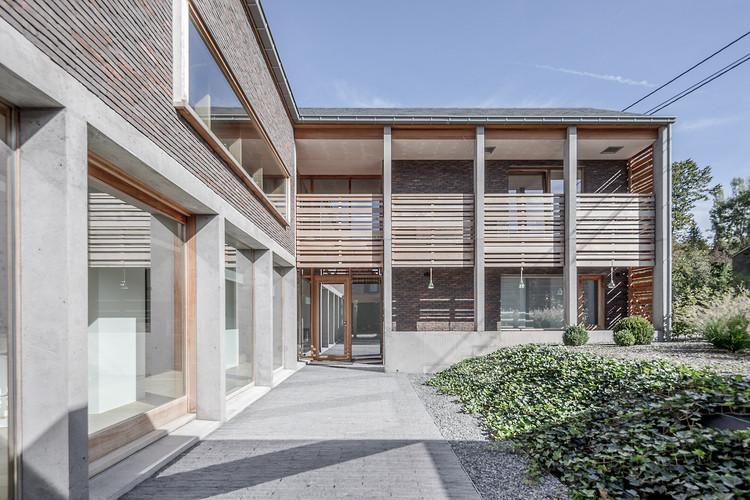 Nivezé House / Michel Prégardien Architecture, © Defourny Samuel