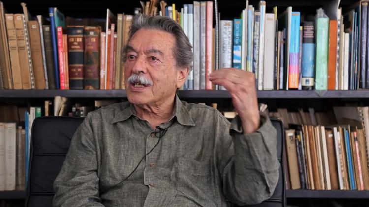 Paulo Mendes da Rocha fala sobre democracia, Paulo Mendes da Rocha. Image via Arquitetxs pela Democracia