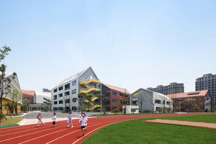 Hangzhou Haishu School of Future Sci-Tech City / LYCS Architecture, © Shengliang Su