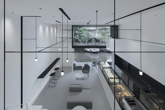 Interior Upstairs Void. Image © Zhi Xia
