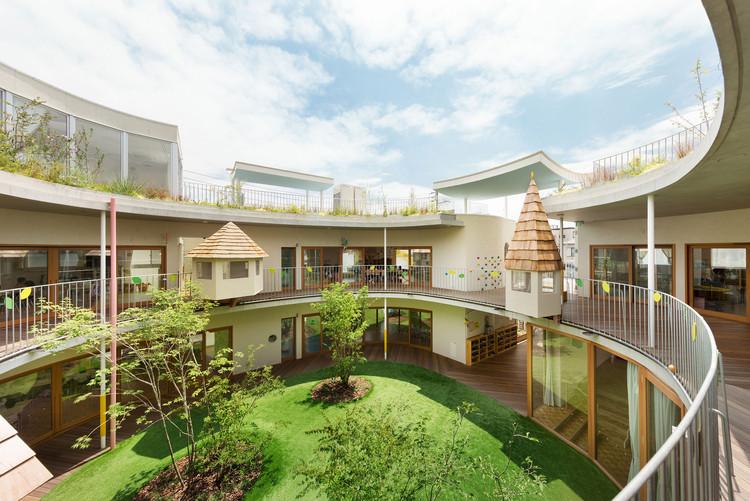 Jardín infantil Tomonoki-Himawari / MAMM DESIGN, © Takumi Ota