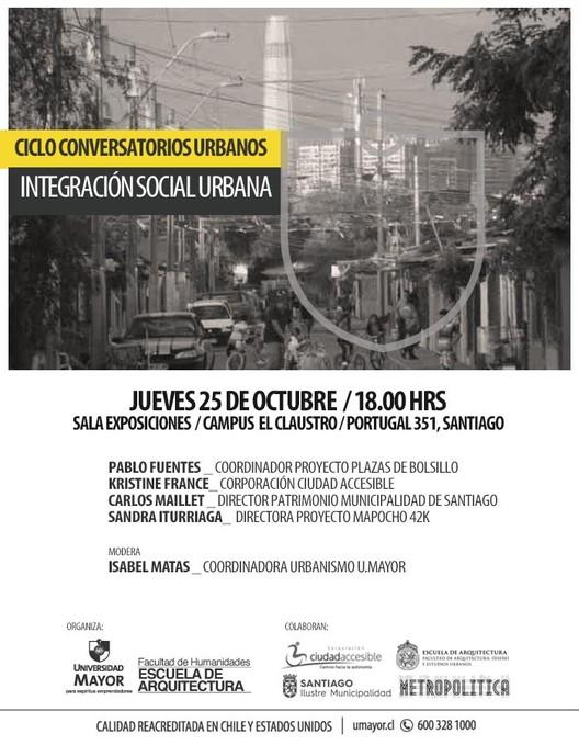Conversatorio Urbano: Integración social urbana
