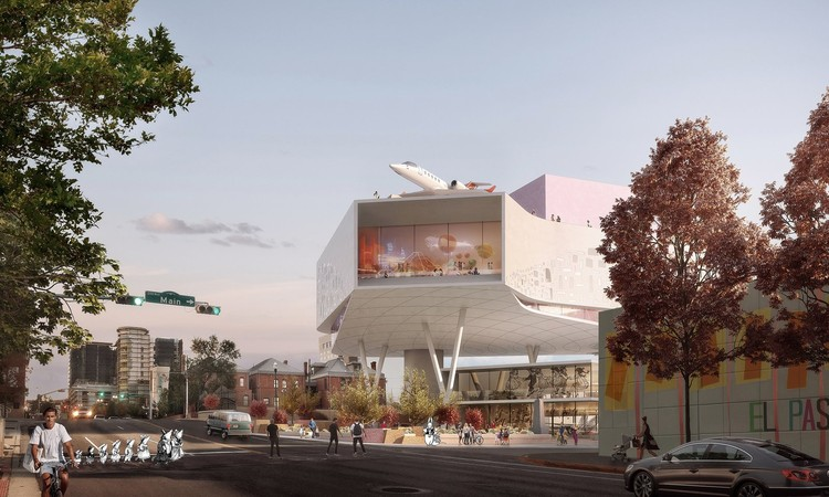Snøhetta Selected to Design El Paso Children's Museum, El Paso Children's Museum. Image Courtesy of Snøhetta