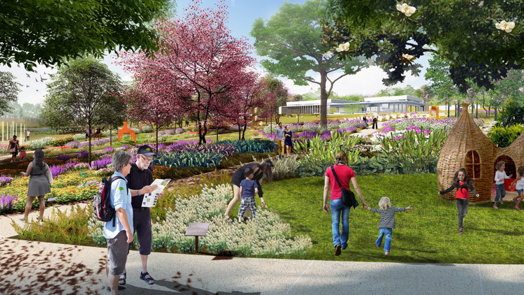 Sasaki Revitalizes Vacant Rail Yard to Create Florida's New Central Park, Courtesy of Sasaki