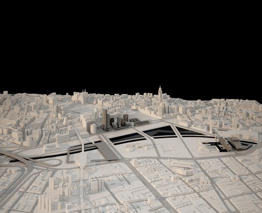 Plano Urbanístico Parque Dom Pedro II / Una Arquitetos