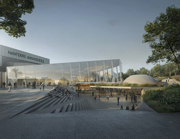 Snøhetta to Renovate Avant-Garde Theater in Nanterre, France with Dynamic Extension, Courtesy of Snøhetta