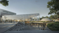 Snøhetta to Renovate Avant-Garde Theater in Nanterre, France with Dynamic Extension