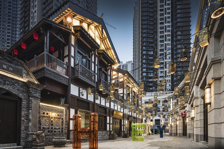 Landmark Riverside Park – Phase II: Danzishi Old Street / LWK + PARTNERS, © WOHO