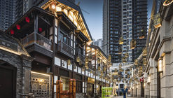 Landmark Riverside Danzishi Old Street / LWK + PARTNERS