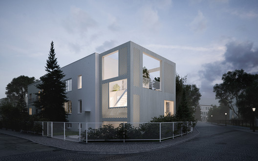 House for W / MFRMGR Architekci