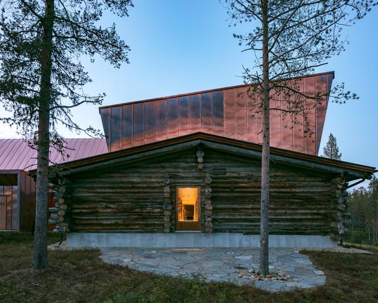 Jávri Lodge / Arkkitehtitoimisto Teemu Pirinen, © Marc Goodwin
