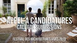 Festival des Architectures Vives 2019
