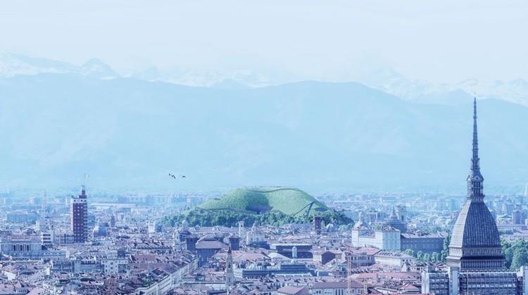 Montaña esponjosa. Imagen cortesía de Angelo Renna