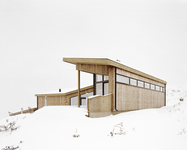 Refugio Gubrandslie / Helen & Hard architects, © Rasmus Norlander