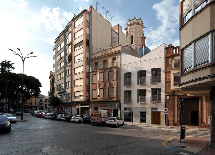 EL PLA Building / Juan Marco arquitectos, © Diego Opazo