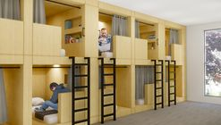 """""""Re-Habit"""" Transforms Empty Big Box Stores into Housing for the Homeless"""