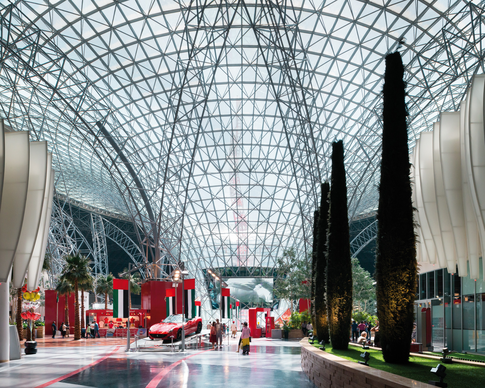 Ferrari World Abu Dhabi Benoy Archdaily