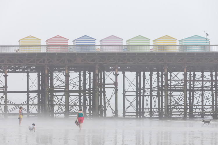 The Unlikely Life, Death and Rebirth of the Hastings Pier, Hastings Pier / dRMM. Image © Laurian Ghinitiou