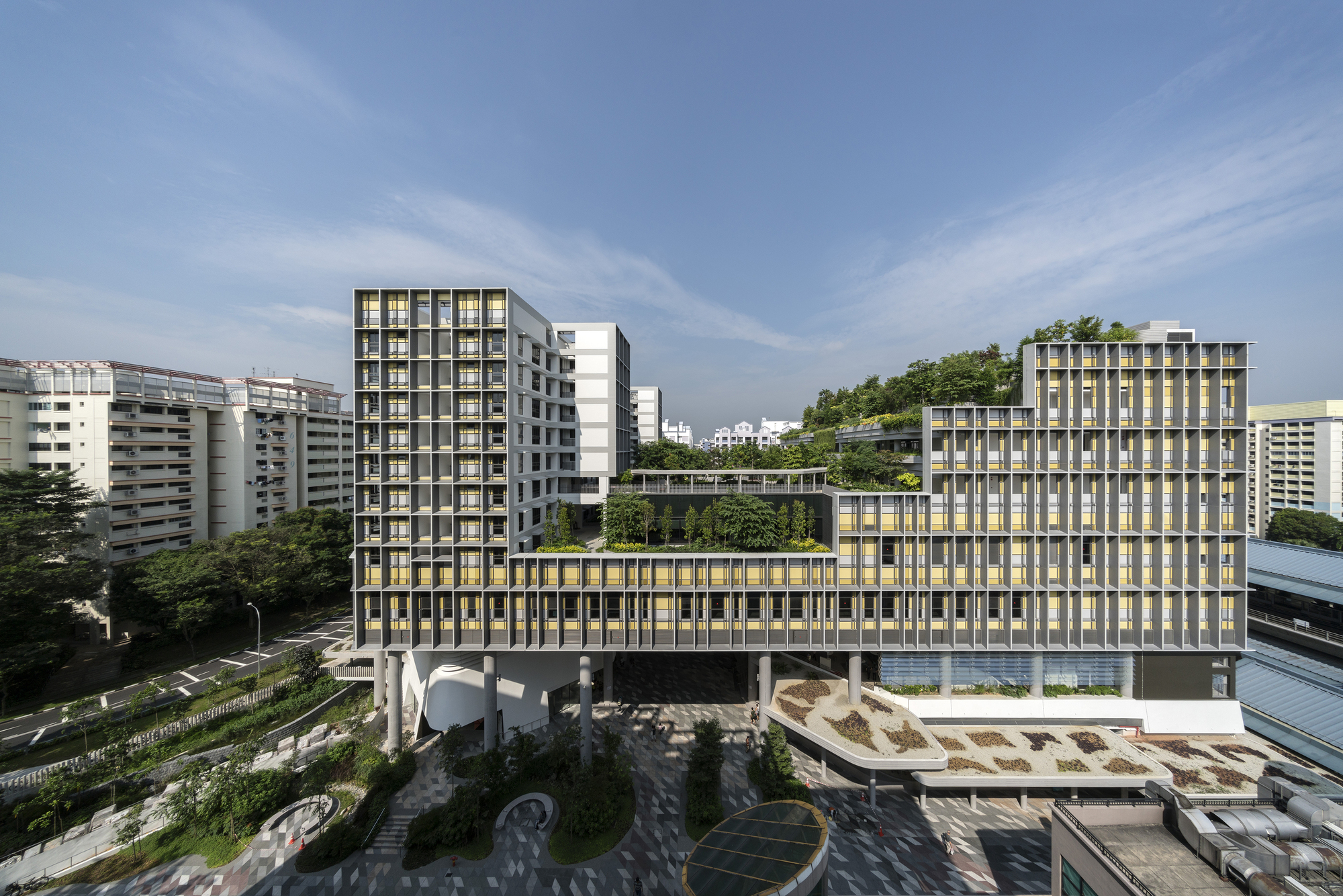 Kampung Admiralty Woha Archdaily