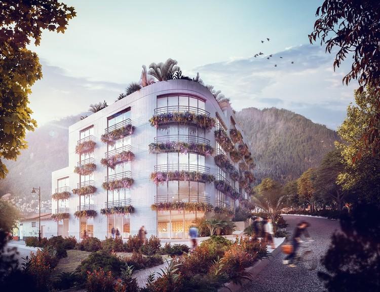Simón Vélez diseña en Bogotá su primer proyecto con acero, © A Korn Arquitectos