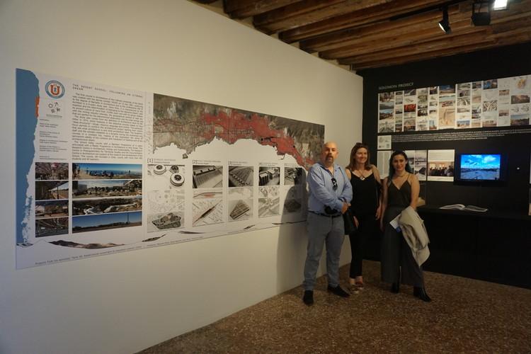 Exhibición del Taller 89: rehabilitación de esqueletos urbanos en el Palacio Mora, Massimo Palme
